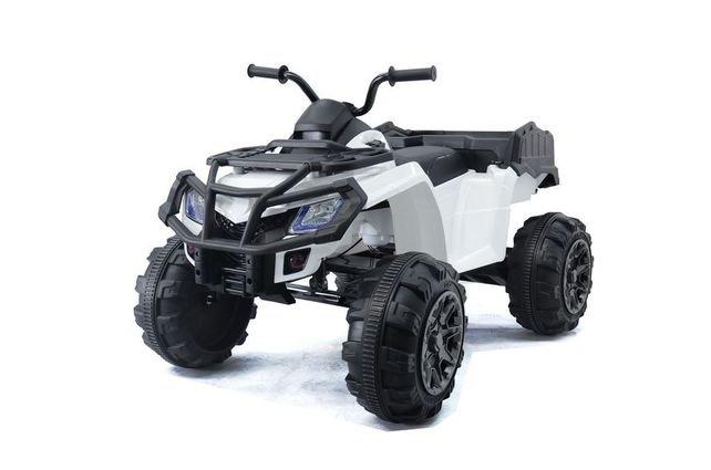 Полноприводный электроквадроцикл Grizzly Next Т009МР 4WD (колеса резина, сиденье кожа, пульт, музыка)