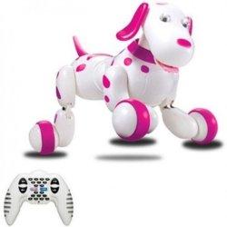 Радиоуправляемая робот-собака HappyCow Smart Dog Pink - 777-338